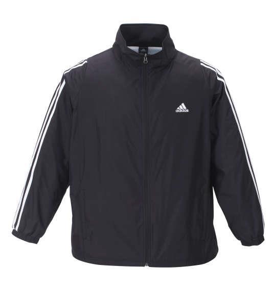 大きいサイズ メンズ adidas ウインド ジャケット ブラック 1276-0153-2 3XO 4XO 5XO 6XO 7XO