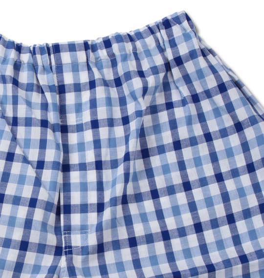大きいサイズ メンズ marie claire homme DRY ツイル チェック 長袖 パジャマ ネイビー 1259-0150-1 3L 4L 5L 6L 8L