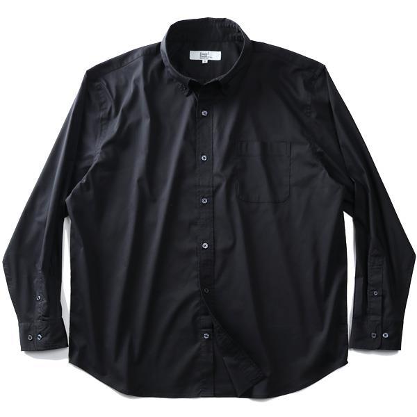シャツ割 大きいサイズ メンズ DANIEL DODD 長袖 ストレッチ ブロード ボタンダウン シャツ azsh-200125