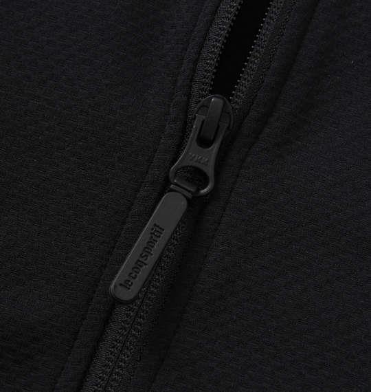 大きいサイズ メンズ LE COQ SPORTIF ソロテックス スウェット ジャケット ブラック 1276-0100-2 2L 3L 4L 5L 6L
