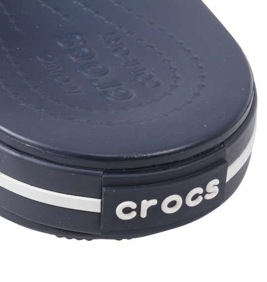 大きいサイズ メンズ crocs サンダル クロックバンドTM3.0スライド ネイビー × ホワイト 1240-0232-3 M11 M12 M13