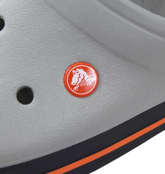 大きいサイズ メンズ crocs サンダル クロックバンドTM ライトグレー × ネイビー 1140-9340-7 M11 M12 M13