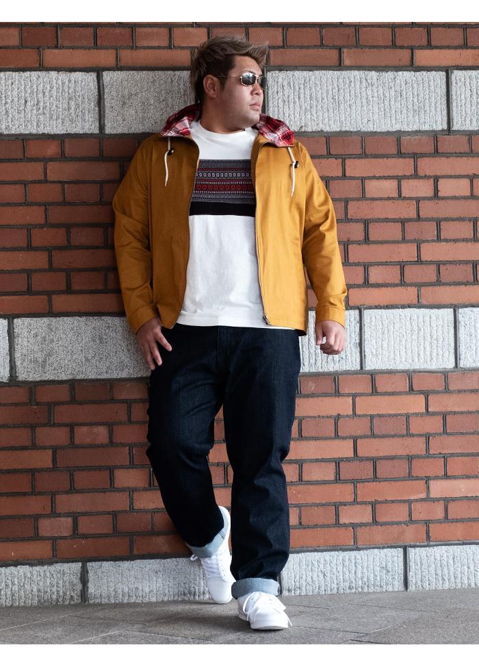 大きいサイズ メンズ DANIEL DODD ストレッチ フーデッド ブルゾン 春夏新作 936-azb-200102 緊急セール