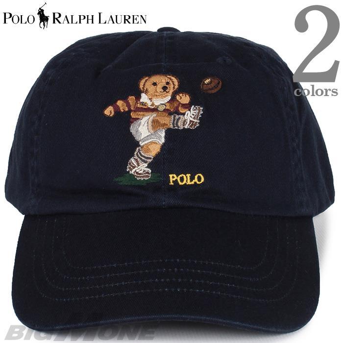 メンズ POLO RALPH LAUREN ポロ ラルフローレン ロゴ刺繍 ベースボール キャップ 帽子 USA直輸入 710780290