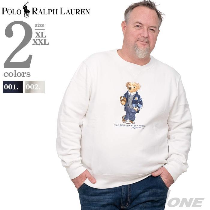 大きいサイズ メンズ POLO RALPH LAUREN ポロ ラルフローレン プリント トレーナー USA直輸入 710782859