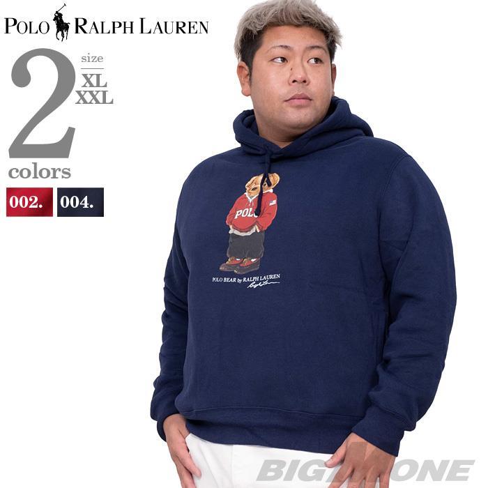 大きいサイズ メンズ POLO RALPH LAUREN ポロ ラルフローレン プリント プルオーバー パーカー USA直輸入 710782860