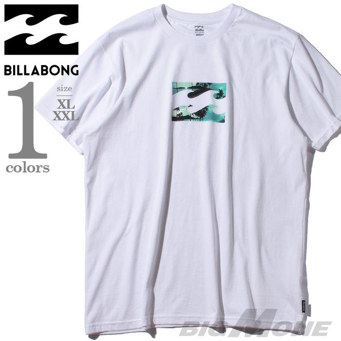 ブランドセール 大きいサイズ メンズ BILLABONG ビラボン プリント 半袖 Tシャツ USA直輸入 m4041btw
