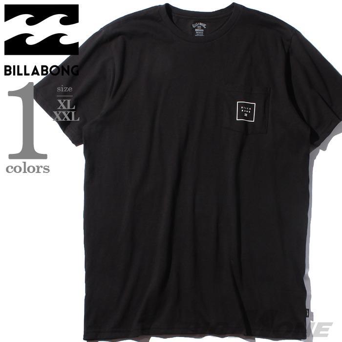 ブランドセール 大きいサイズ メンズ BILLABONG ビラボン ポケット付 プリント 半袖 Tシャツ USA直輸入 m4331bsf