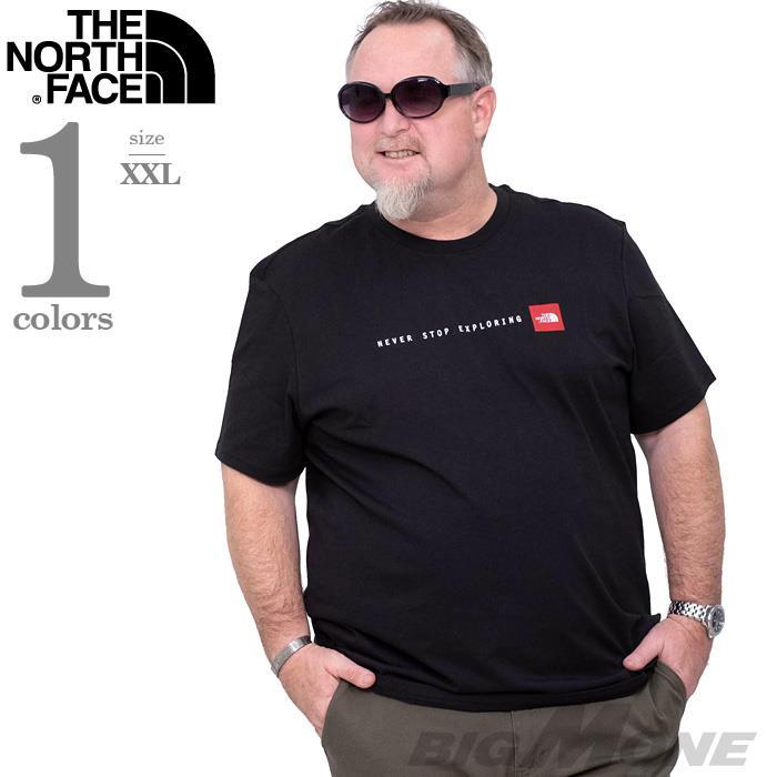 ブランドセール 大きいサイズ メンズ THE NORTH FACE ザ ノース フェイス プリント 半袖 Tシャツ USA直輸入 nf0a2tx4