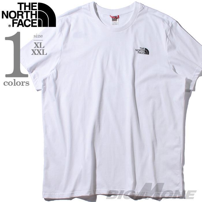 ブランドセール 大きいサイズ メンズ THE NORTH FACE ザ ノース フェイス プリント 半袖 Tシャツ USA直輸入 t92tx5