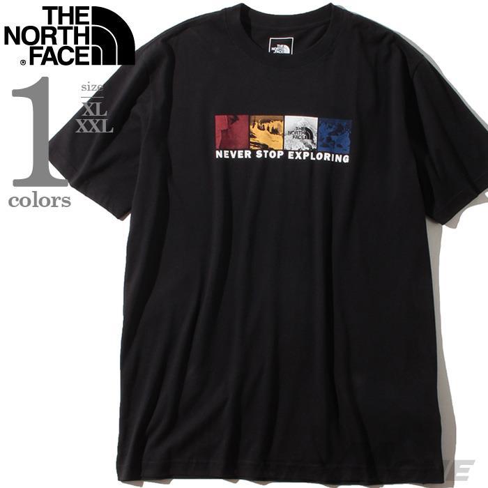 ブランドセール 大きいサイズ メンズ THE NORTH FACE ザ ノース フェイス プリント 半袖 Tシャツ USA直輸入 nf0a3x6sjk3