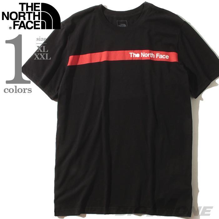ブランドセール 大きいサイズ メンズ THE NORTH FACE ザ ノース フェイス プリント 半袖 Tシャツ USA直輸入 nf0a4aaqjk3