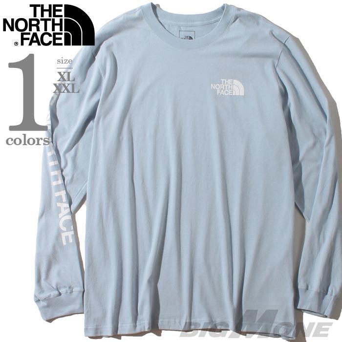 大きいサイズ メンズ THE NORTH FACE ザ ノース フェイス プリント ロング Tシャツ USA直輸入 nf0a471khk3