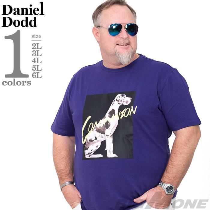 大きいサイズ メンズ DANIEL DODD フォト プリント ストレッチ 半袖 Tシャツ COMPANION 春夏新作 azt-200291