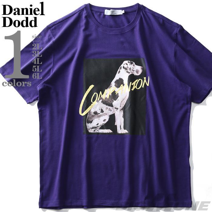 【SPSS】大きいサイズ メンズ DANIEL DODD フォト プリント ストレッチ 半袖 Tシャツ COMPANION azt-200291