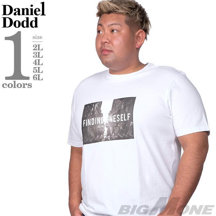 大きいサイズ メンズ DANIEL DODD フォト プリント ストレッチ 半袖 Tシャツ FINDING ONE SELF 春夏新作 azt-200294