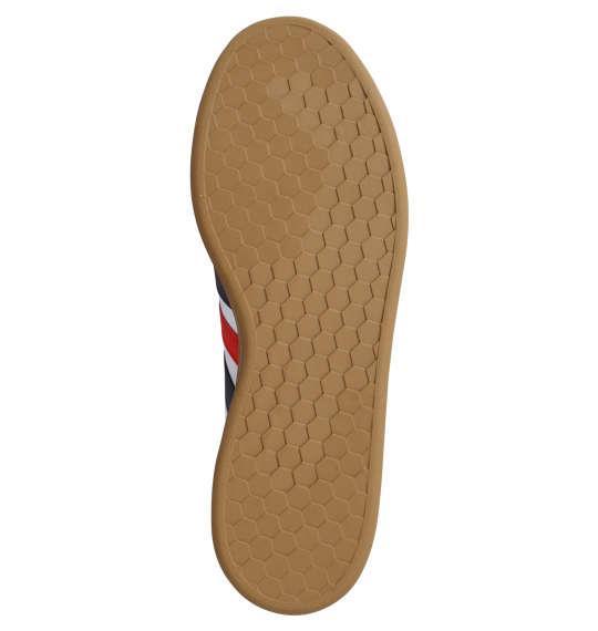 大きいサイズ メンズ adidas スニーカー GRANDCOURT LEA U フットウェアホワイト 1240-0264-1 29 30 31 32
