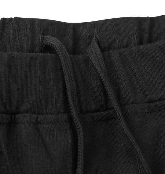 大きいサイズ メンズ SHOCK NINE 総柄 半袖 Tシャツ + ミニ 裏毛 ハーフパンツ ブラック × ブラック 1258-0292-2 3L 4L 5L 6L