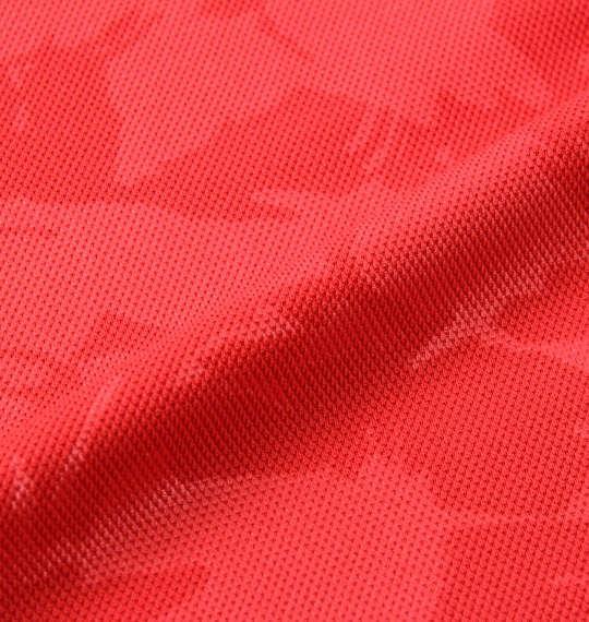 【golf1】大きいサイズ メンズ RUSTY GOLF カモフラ エンボス 半袖 ポロシャツ レッド 1278-0205-1 3L 4L 5L 6L