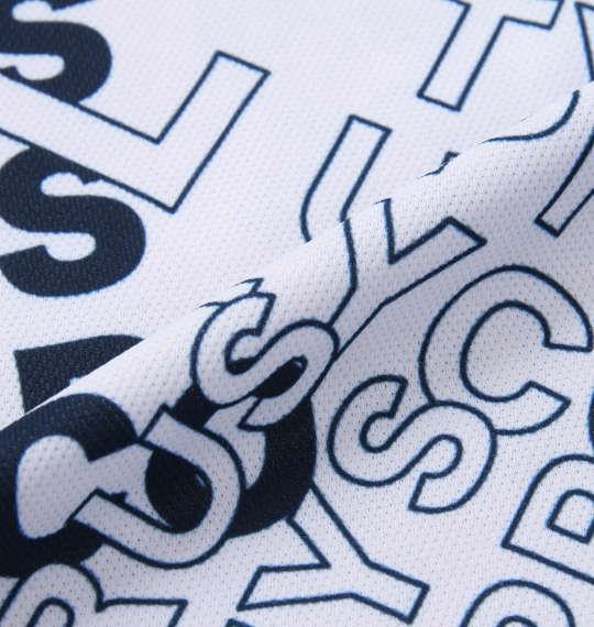 【golf1】大きいサイズ メンズ RUSTY GOLF ロゴプリント スキッパー 半袖 シャツ ホワイト 1278-0206-1 3L 4L 5L 6L