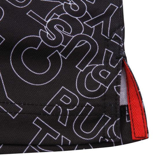 【golf1】大きいサイズ メンズ RUSTY GOLF ロゴプリント スキッパー 半袖 シャツ ブラック 1278-0206-2 3L 4L 5L 6L