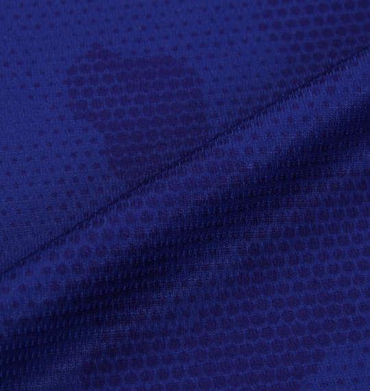 【golf1】大きいサイズ メンズ FILA GOLF カモエンボス柄 半袖 ポロシャツ ブルー 1278-0246-2 3L 4L 5L 6L