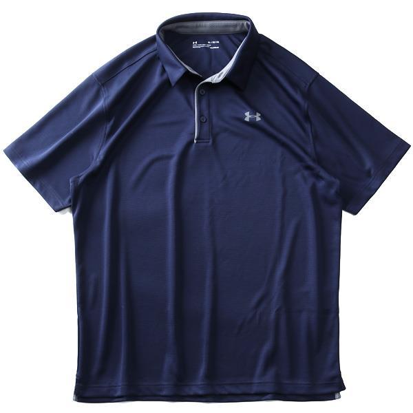 【golf1】ブランドセール 大きいサイズ メンズ UNDER ARMOUR アンダーアーマー 半袖 ゴルフ ポロシャツ スポーツウェア USA直輸入 1290140