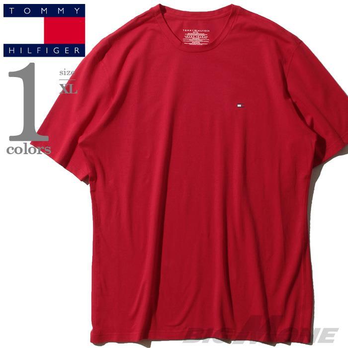 大きいサイズ メンズ TOMMY HILFIGER トミーヒルフィガー 半袖 Tシャツ USA直輸入 09t3414
