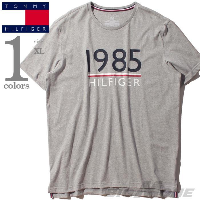 大きいサイズ メンズ TOMMY HILFIGER トミーヒルフィガー プリント 半袖 Tシャツ USA直輸入 09t3429