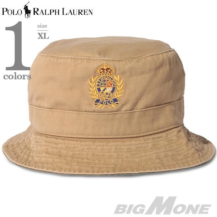 メンズ POLO RALPH LAUREN ポロ ラルフローレン 刺繍入 ハット 帽子 USA直輸入 710787239