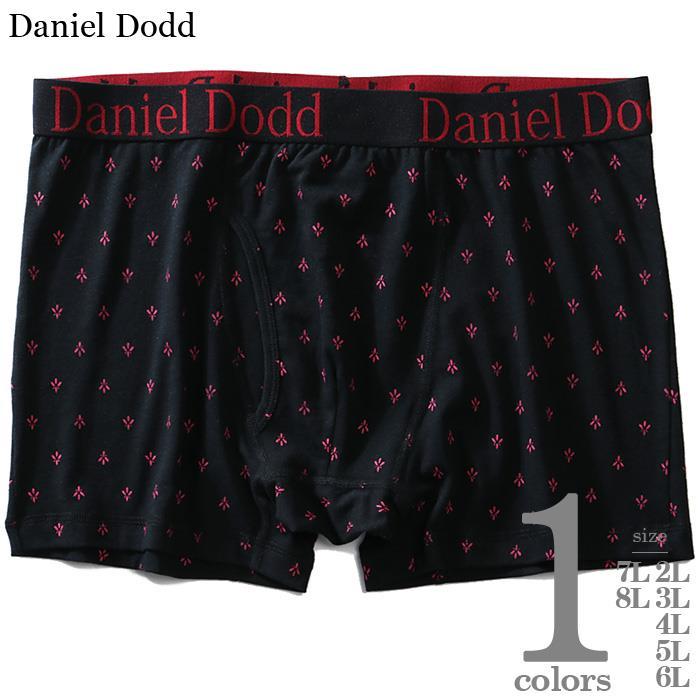 大きいサイズ メンズ DANIEL DODD 前開き 総柄 プリント ボクサー ブリーフ パンツ 肌着 下着 azup-200251