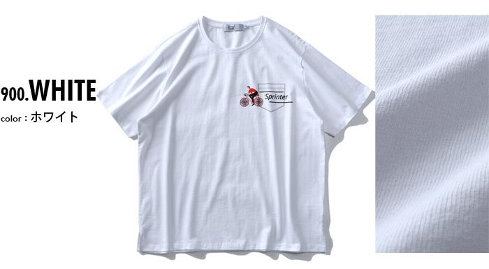 【sb0511】【pd0525】大きいサイズ メンズ DANIEL DODD ヘヴィーウェイト 半袖 プリント Tシャツ Sprinter azt-2002122