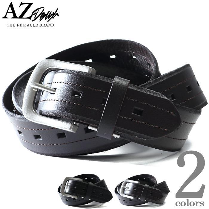 大きいサイズ メンズ AZ DEUX レザー ベルト ロングサイズ azcl-209045