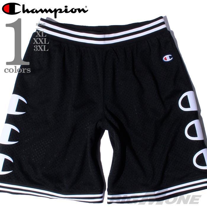 ブランドセール 大きいサイズ メンズ Champion チャンピオン メッシュ ジャージ ショートパンツ USA直輸入 88830