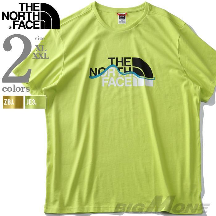 ブランドセール 大きいサイズ メンズ THE NORTH FACE ザ ノース フェイス プリント 半袖 Tシャツ USA直輸入 nf00a3g2