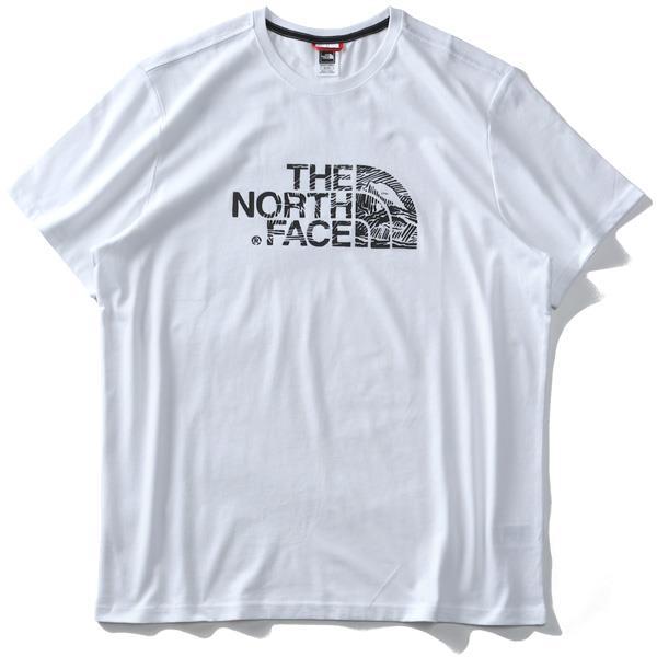 ブランドセール 大きいサイズ メンズ THE NORTH FACE ザ ノース フェイス プリント 半袖 Tシャツ USA直輸入 nf00a3g1