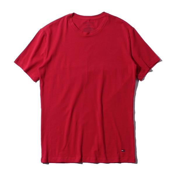 レギュラーサイズ TOMMY HILFIGER トミーヒルフィガー 肌着 下着 半袖 Tシャツ クルーネック 3枚セット メンズ USA直輸入 r09t3147