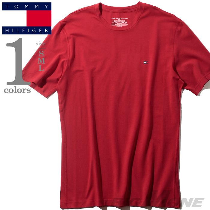 レギュラーサイズ TOMMY HILFIGER トミーヒルフィガー ストレッチ 半袖 Tシャツ メンズ USA直輸入 r09t3414