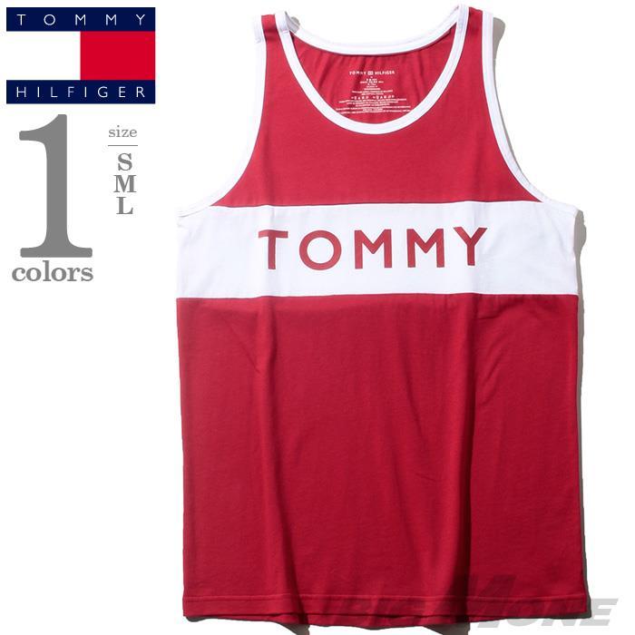 レギュラーサイズ TOMMY HILFIGER トミーヒルフィガー ボーダー タンクトップ メンズ USA直輸入 r09t3547