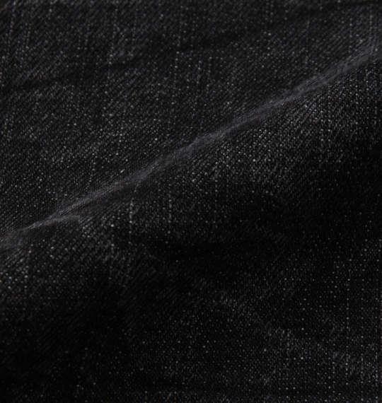 大きいサイズ メンズ RIMASTER ジップ付 デニム パンツ ブラック 1254-0300-2 100 110 120 130 140 150
