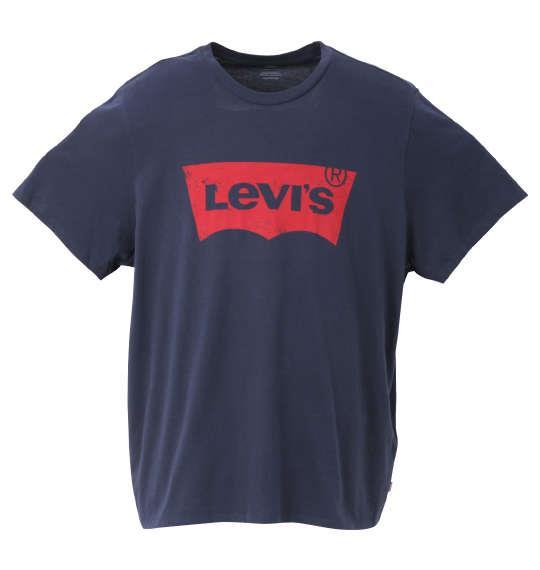 大きいサイズ メンズ Levi's 半袖 Tシャツ ドレスブルー 1278-0340-2 3XL 4XL 5XL