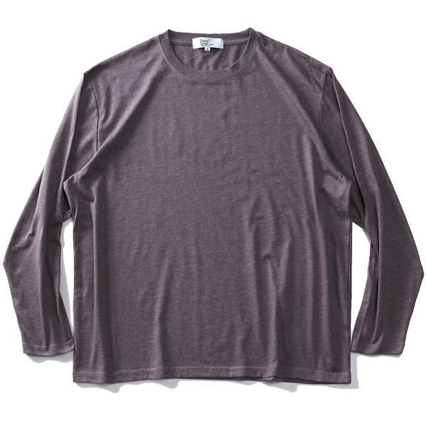大きいサイズ メンズ DANIEL DODD 長袖 無地 Tシャツ ロンT 秋冬新作 936-t200411