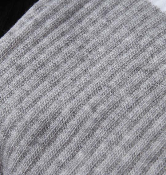 大きいサイズ メンズ adidas 3S CSH 3P クルー ソックス 3色ミックス 1270-0301-1 2XL XL