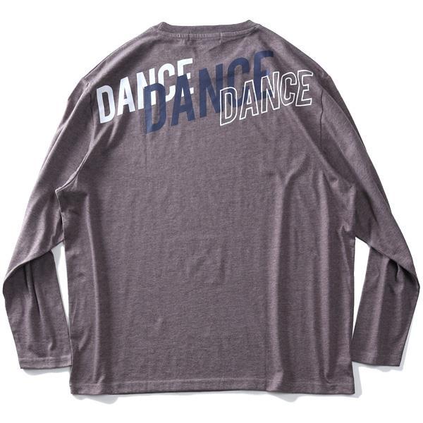 【outlet】大きいサイズ メンズ DANIEL DODD プリント ロング Tシャツ DANCE 936-t200423
