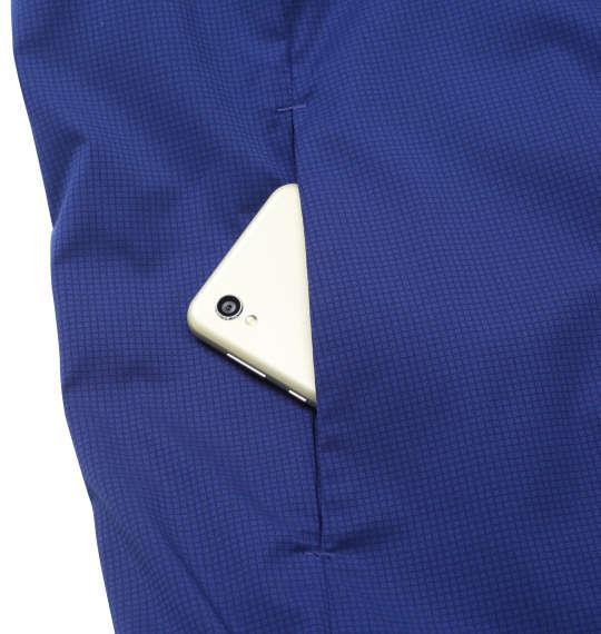 大きいサイズ メンズ DESCENTE ヒートナビ ソロテックス スタンド ジャケット ブルー 1273-0350-1 2L 3L 4L 5L 6L