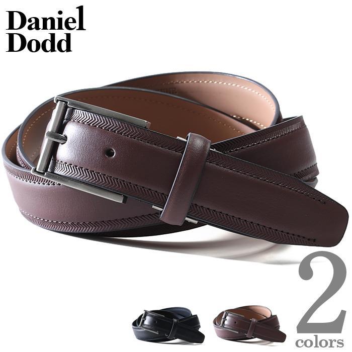 【冬最終】大きいサイズ メンズ DANIEL DODD ビジネス レザー ロング ベルト azbl-082l