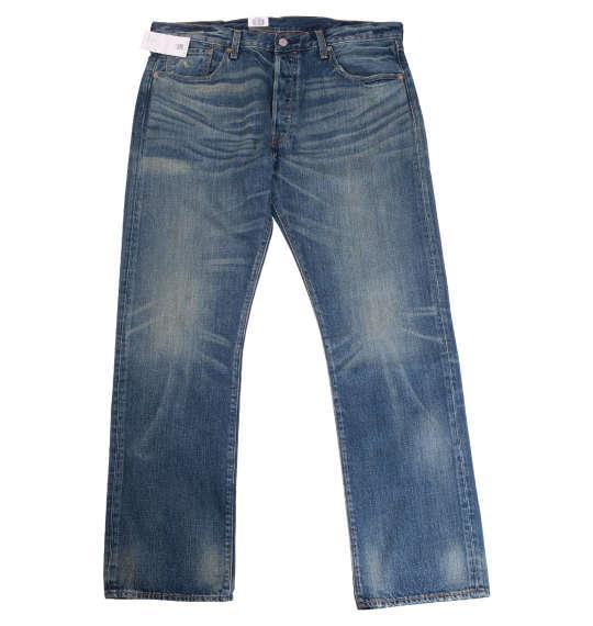 大きいサイズ メンズ Levi's 501 オリジナルフィット デニム パンツ ウォッシュド 1274-0300-2 38 40 42 44 46