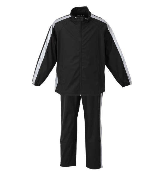 大きいサイズ メンズ Mc.S.P サウナ スーツ ブラック × シルバー 1276-0360-1 3L 4L 5L 6L 8L