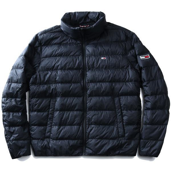 【冬最終】大きいサイズ メンズ TOMMY JEANS トミージーンズ ライト ダウン ジャケット USA直輸入 dm0dm08678