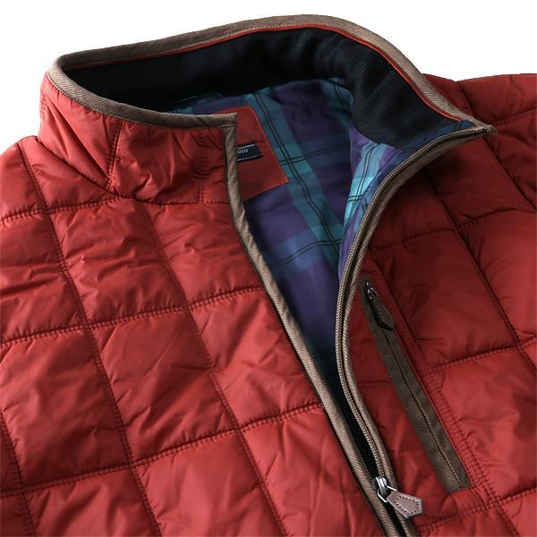 【bmo】【冬最終】大きいサイズ メンズ KANSAI YAMAMOTO ブロック キルト 中綿 ジャケット 撥水加工 2l056k